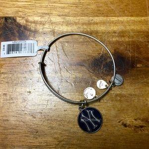 Brand New Alex And Ani NY Yankees Bracelet